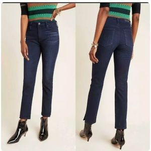 Anthropologie AG The Stevie High-Rise Slim Straight Ankle Jeans Size 26R